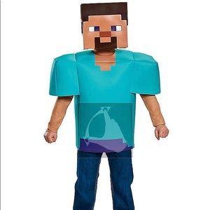 Minecraft Steve Halloween costume